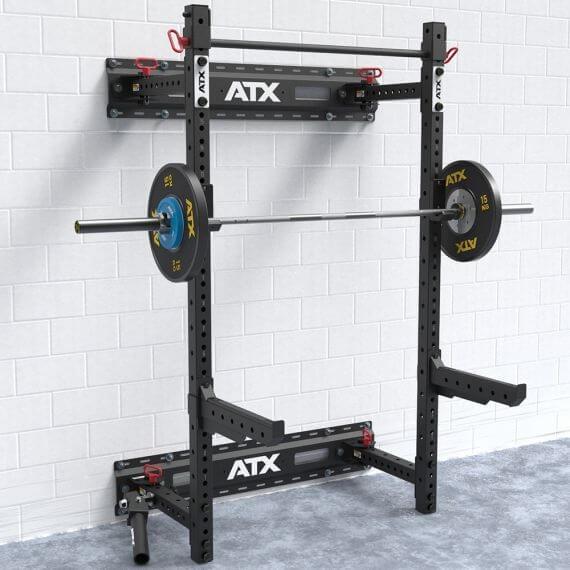 Ifs garage gym foldable wall rack faltbares