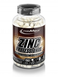 IRONMAXX Zink Professional, 150 Kapseln à 838mg, Neutral