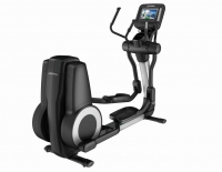 LIFE FITNESS Crosstrainer Platinum Club Series Discover SI WIFI, Arctic Silver
