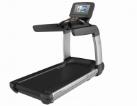 LIFE FITNESS Laufband Platinum Club Series Discover SI WIFI, Arctic Silver