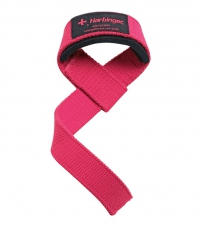 HARBINGER Padded Lifting Straps, pink