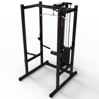 MEGATEC Power Rack mit Latzug - Stack Weight