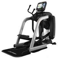 LIFE FITNESS Crosstrainer PCSeries FlexStrider Discover SI WIFI, Arctic Silver