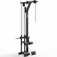 MEGATEC Half Rack mit Latzug Stack Weight