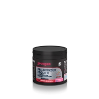 SPONSER Pre-Workout Booster, Dose 265g, Apple-Raspberry