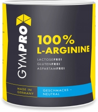 GYMPRO Arginin Powder, 500g Dose, Neutral