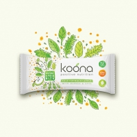 KOONA Vegetable & Protein Bite 12x65g