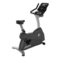 LIFE FITNESS Ergometer C3 Track Connect Konsole