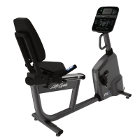 LIFE FITNESS Recumbentbike RS1 Track Connect Konsole