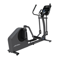 LIFE FITNESS Crosstrainer E1 Track Connect Konsole