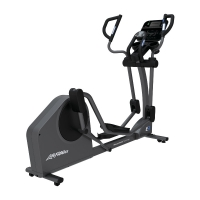 LIFE FITNESS Crosstrainer E3 Track Connect Konsole