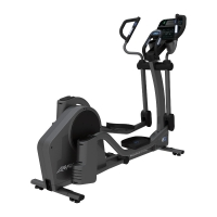 LIFE FITNESS Crosstrainer E5 Track Connect Konsole