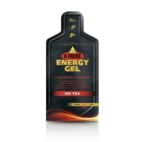 INKOSPOR X-Treme Energy Gel, Display 24x 40g, Ice Tea