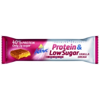INKOSPOR Active Protein & Low Sugar, 24x 35g Riegel, Vanille-Dream