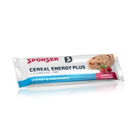 SPONSER Cereal Bars Energy Plus Box 15x 40g, Cranberry