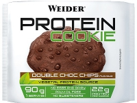 WEIDER Protein Cookies 12 x 90g, Double Choc Chips