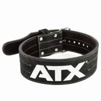 ATX Power Belt Veloursleder - schwarz