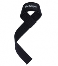 HARBINGER Padded Lifting Straps, schwarz