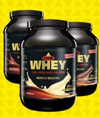 INKOSPOR Whey Protein 750g Dose, diverse Aromen