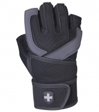 HARBINGER Trainingshandschuhe Training Grip Wristwrap schwarz, Gr. S-XXL