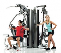 TUFF STUFF Apollo 7400, 4-Stationen Multi Gym System