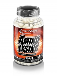 IRONMAXX Amino Lysin, 130 Kapseln à 910mg, Neutral