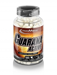 IRONMAXX Guarana Active, 100 Kapseln à 910mg, Neutral