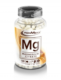 IRONMAXX Mg-Magnesium, 130 Kapseln à 910mg, Neutral