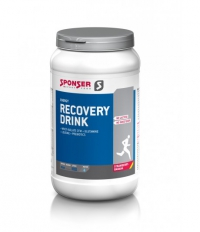 SPONSER Recovery Drink, Strawberry-Banana, 1,2Kg Dose
