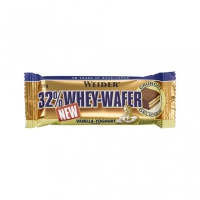 WEIDER 32% Whey Waffel Bar, Display mit 24x 35g