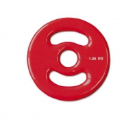 IFS Hantelscheibe Vinyl-Disk, Gripper 30 mm, 2,5 kg